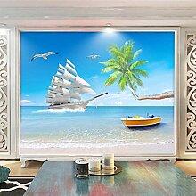 Anpassbare Größe Meer Strand Ansicht 3D
