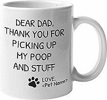Anpassbare personalisierte Hund Mama & Papa