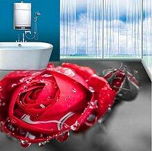 anpassen 3d bodenbelag rosen tapete 3d