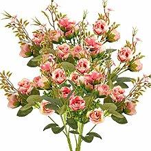 ANPHSIN Künstliche Blumen, 5 Zweige, 10 Blüten,