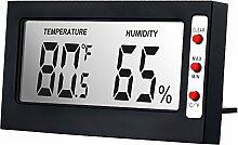 Anpro Hygrometer Digital Thermometer Luftfeuchtigkeit Feuchtigkeitsmesser Perfekt für Schlafzimmer, Büro, Wohnzimmer, Kinderzimmer