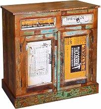 Anrichte Altholz Massivholz Vintage mit 2