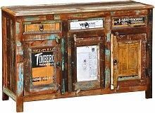 Anrichte Altholz Massivholz Vintage mit 3