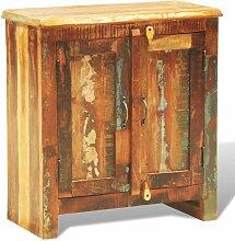 Anrichte mit 2 Türen Altholz Massivholz Vintage