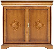 Anrichte mit Dekor Louis Philippe 2 Türen