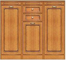 Anrichte modular niedrig Küche aus Holz, Wohnwand