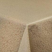 ANRO Tischdecke Textil Polyesther mit Reliefdruck