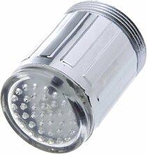 Anself 3 Farbenwechselnd Leuchtend LED Waßerhahn