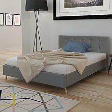 Anself Doppelbett Bett Ehebett Gästebett aus Holz