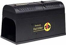 Anself Elektronische Rattenfalle, mit Adapterstecker für die EU, gegen Nagetiere