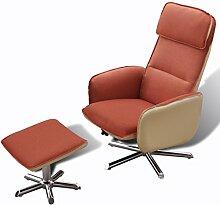 Anself Fernsehsessel TV Sessel Relaxsesse Sessel Armsessel Lesesessel mit Fußstütze 3 Farbe Optional