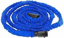 Anself Flexibel erweiterbare Ultralight-Garten Bewässerung magische Schlauch blau 25FT
