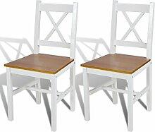 Anself Holzstuhl Esszimmerstuhl Küchenstuhl mit