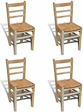 Anself Holzstuhl Küchenstuhl Esszimmerstuhl mit