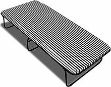 Anself Klappbett Gästebett mit Metall Rahmen inkl. Matratze 190 x 80cm Klappbar