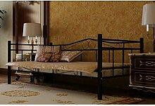 Anself Metallbett Bett Einzelbett Tagesbett