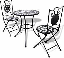 Anself Tischgruppe Tischgruppe Mosaiktisch