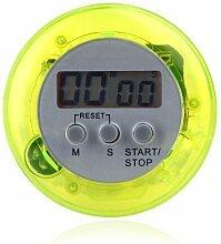 Anself Zeitschalter elektronisch multifunktionale magnet küchengerät mehrere farben /Stoppuhr - Zeitschalter & Wecker - gelb