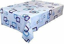 Ansenesna Tischdecke Quadratisch 170x170cm PVC