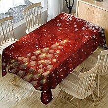Ansenesna Tischdecke Weihnachten übergröße