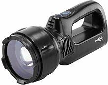 ANSMANN HSL 1 Profi Handscheinwerfer LED, 3W/Fokussierbarer Arbeitslampe mit integriertem Akku und Magnet/Robuste Handlampe für Camping, Jagd oder Werksta