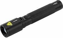 ANSMANN LED Taschenlampe in schwarz T400FR /