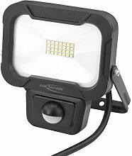 ANSMANN Wandstrahler mit Bewegungsmelder LED 10W