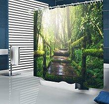 ANSODT Chinesischen Stil Wald 3D Dicke