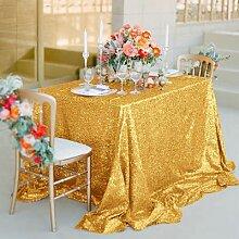 ANSOST Hochzeit Pailletten Tischdecke Party