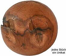 ANTARRIS Holzkugel Wurzelkugel rund 10-30 cm (20