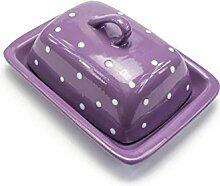 Antec Butterdose aus Keramik mit Henkel | Für