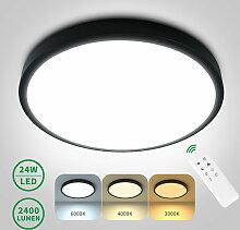 ANTEN 24W Deckenleuchte Runde dimmbare LED mit