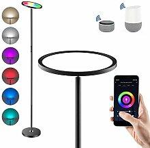 Anten LED Stehlampe, Stehleuchte Dimmbar RGB und