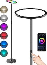 Anten LED Stehleuchte, Stehlampe Dimmbar RGB und