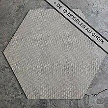 ANTEVIA® Vinyl Bodenfliese 6-eckig gewebt 15