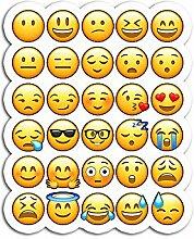 AnthonyBanfieldShop Aufkleber Emoji, Emoticons,