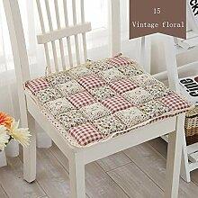 Anti-Dekubitus Baumwolle Stuhl Kissen 24 Farben 2