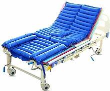 Anti-Dekubitus-Matratze Im Pflegebett,