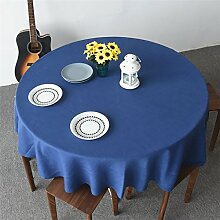 Anti-Fading-Tischdecke Weihnachtliche runde