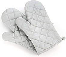 [Anti-Greasy] Silber Mikrowelle Handschuhe