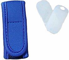 Anti-Mücken Armband MückenSchutz Insektenschutz Antimückenarmband Citronella Mückenspray MSC (Blau)