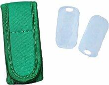 Anti-Mücken Armband MückenSchutz Insektenschutz Antimückenarmband Citronella Mückenspray MSC (Grün)