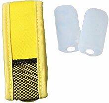 Anti-Mücken Armband MückenSchutz Insektenschutz Antimückenarmband Citronella Mückenspray MSC (Gelb)