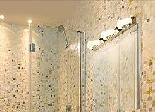 Anti - Nebel Spiegel Scheinwerfer LED Badezimmer Badezimmer Gang Wand Lampe Modern Einfache personalisierte Make - up Spiegel Schrank Lampen ( farbe : Gelb-Four -59cm 12w )