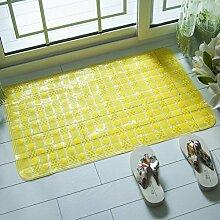 Anti-rutsch Badvorleger,Dusche Zimmer Badematten,Badezimmer-matten,Wasserdichte Pad,King Massagematte-C 50x80cm(20x31inch)