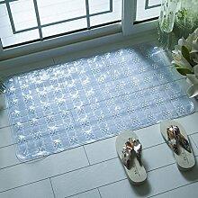 Anti-rutsch Badvorleger,Dusche Zimmer Badematten,Badezimmer-matten,Wasserdichte Pad,King Massagematte-D 50x80cm(20x31inch)