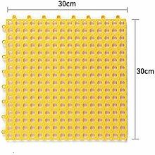 Anti-rutsch Badvorleger/Pvc-dusche Matte/Bad Mosaik-fu?boden-matten/WC Wasserkissen/Kinder Badematte-B 30x30cm(12x12inch)