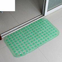 Anti-rutsch Badvorleger/PVC Kunststoff-matte/Badezimmer Matte/Foot Pad/Dusche Matte/Badematte-A 37x68cm(15x27inch)