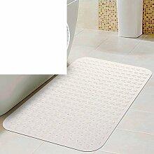 Anti-rutsch Badvorleger/Saugnapf Dusche Matte/Badezimmer-matten/Geschmacklos Badematte-D 47x77cm(19x30inch)