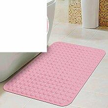 Anti-rutsch Badvorleger/Saugnapf Dusche Matte/Badezimmer-matten/Geschmacklos Badematte-M 58x88cm(23x35inch)